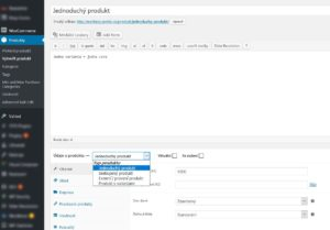 Woocommerce - Jednoduchý produkt